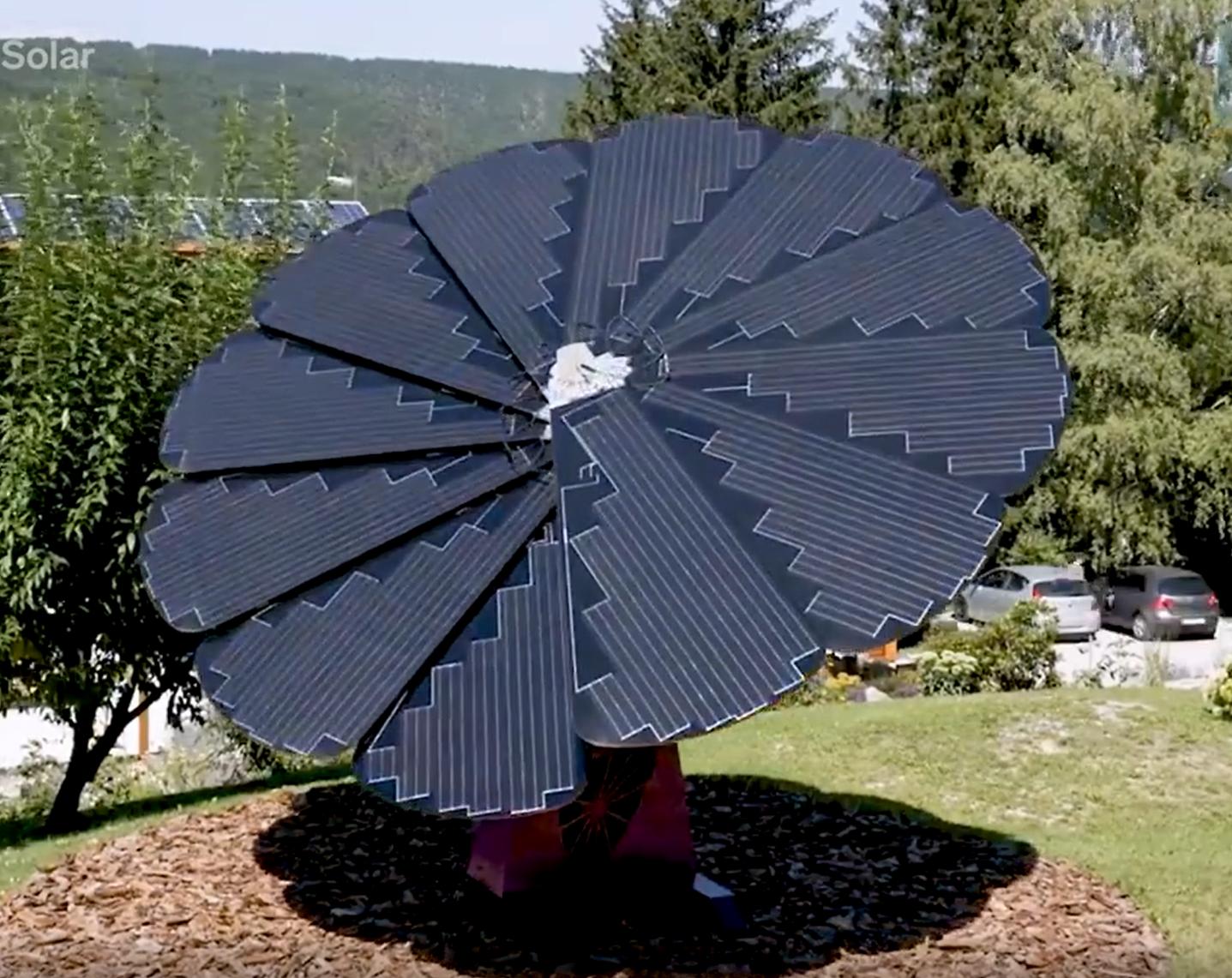 La Smartflower en vidéo